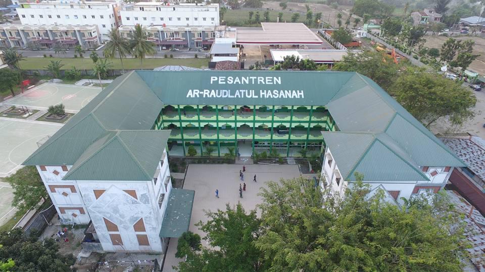 Gedung Makkah Asrama Putra Pesantren Ar Raudlatul Hasanah Medan