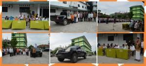 Serah Terima, Mobil Isuzu, Wakaf Raudlah, Pesantren Modern di Medan,
