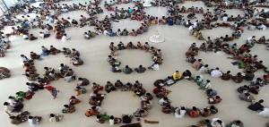 TOPSHOTSIndonesian students at the Ar R
