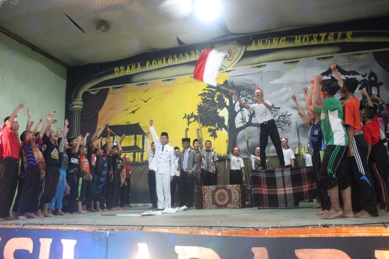 Drama Putra Pesantren Ar Raudlatul Hasanah 2016. Medan