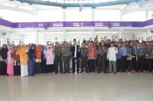 Selamat Datang Tim Wasbang Kodam I/Bukit Barisan di Pesantren Ar Raudlatul Hasanah