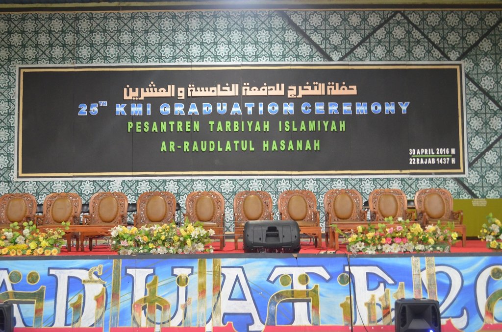Graduation Ceremony Islamic Boarding School Ar Raudlatul Hasanah