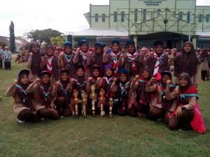 Kejuaraan Santriwati Pesantren Ar Raudlatul Hasanah, Medan.