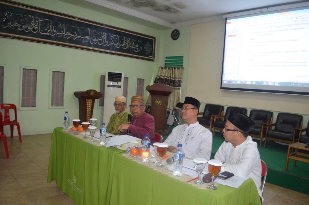 Menager keuangan, Pimpinan dan Direktur Pesantren Ar-Raudlatul Hasanah