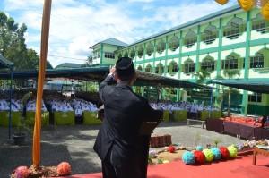 Sambutan Ust. Solihin Addin pada acara LPJ OPRH (Wakil Direktur Pesantren Ar-Raudlatul Hasanah )