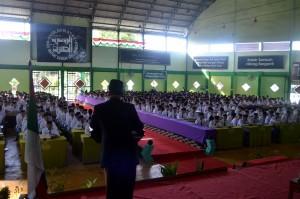 Sambutan dan Pembukaan Acara Laporan Pertanggungjawaban OPRH Ar-Raudlatul Hasanah oleh KH. Drs. Rasyidin Bina, MA