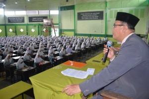 Sambutan Drs. KH. Rasyidin Bina, MA Pada Pembukaan Amaliyah Tadris Pesantren Ar-Raudlatul Hasanah Medan