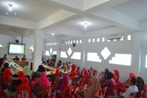 Penyambutan Rombongan MDT Gongsol Brastagi di Gedung Azhar Ar Raudlah Hasanah