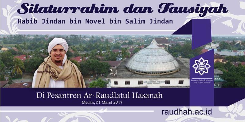 Kunjungan Ulama Besar Ke Pesantren Ar-Raudlatul Hasanah
