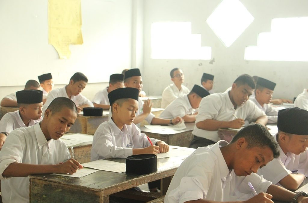 Ujian Mufradat Akhir Tahun di Tunda