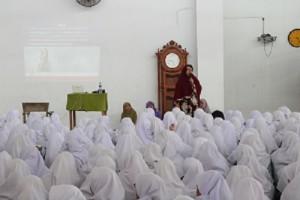 Penyuluhan Khusus untuk Santriwati  Pesantren Ar-Raudhatul Hasanah