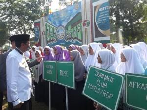 Parade Barisan Apel Tahunan 2017 Dimeriahkan dengan Ragam Barisan Ekstrakurikuler