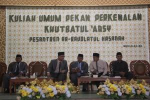 Kuliah Umum Pekan Perkenalan Khutbatul Arsy Babak Pertama