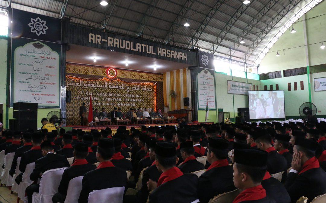 Resepsi Khataman Angkatan ke-27 Tahun 2018 Pesantren Ar-Raudlatul Hasanah