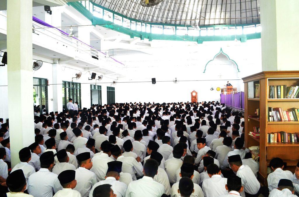 Pembukaan Tahun Pelajaran 2018-2019, Direktur Ingatkan Filosofi Hidup di Pesantren