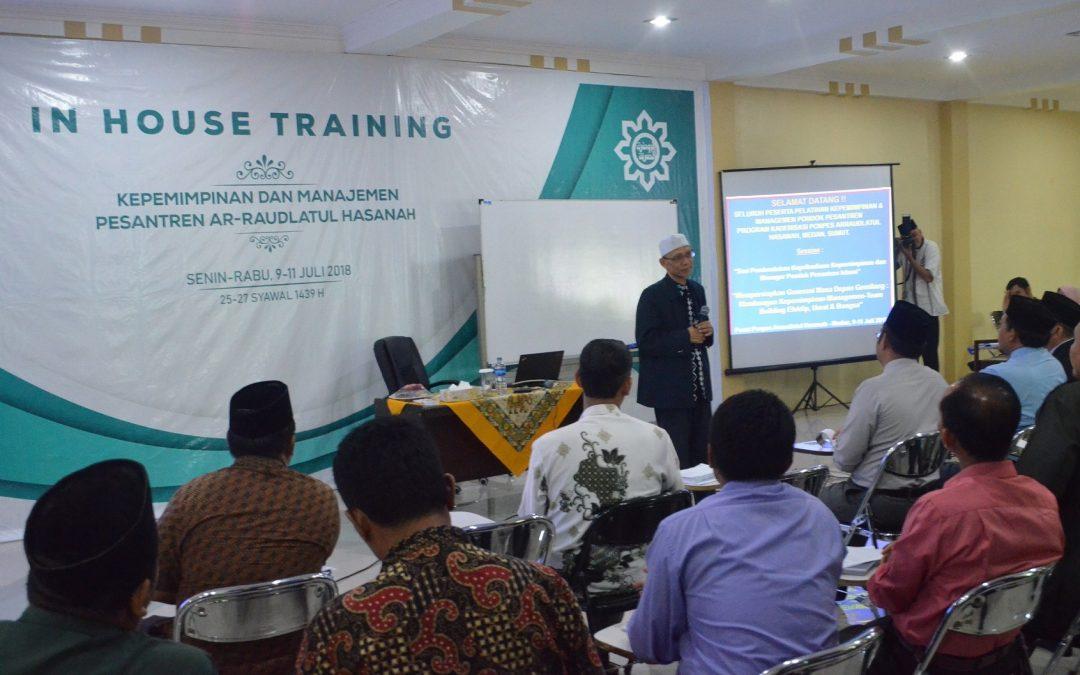 Raudlah Adakan In House Training Kepemimpinan dan Manajemen