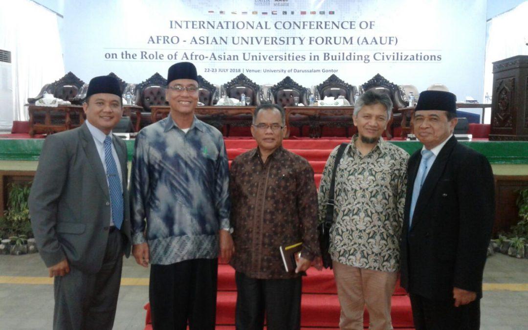 Hadiri AAUF, Ketua STIT Raudlah Rancang Kerjasama Kampus Internasional