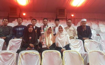 Santri dan Ustad Pesantren Ar-Raudlatul Hasanah Berprestasi di MTQ Nasional XXVII 2018