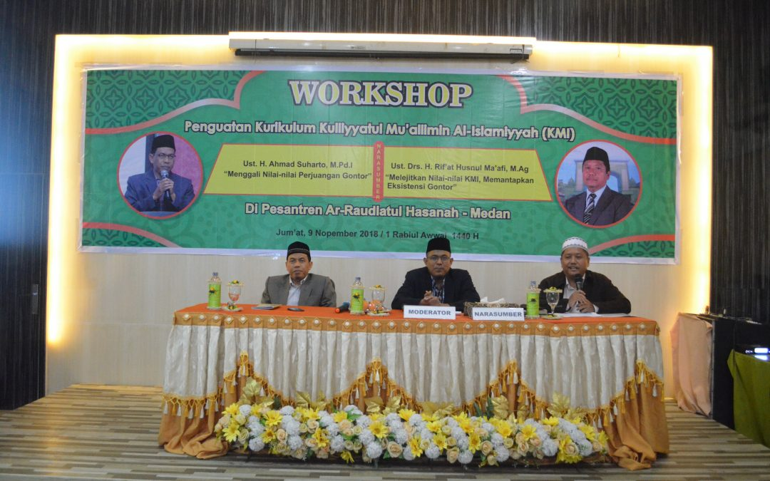 Workshop Penguatan Kurikulum KMI