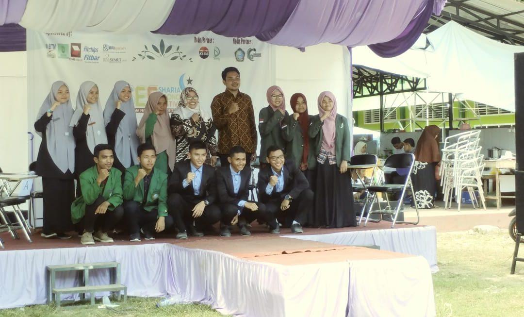 Raudhah Juara Olimpiade Ekonomi Islam di UIN Sumatera Utara