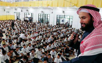 Kunjungan Syaikh Husyam Taher dari Palestina
