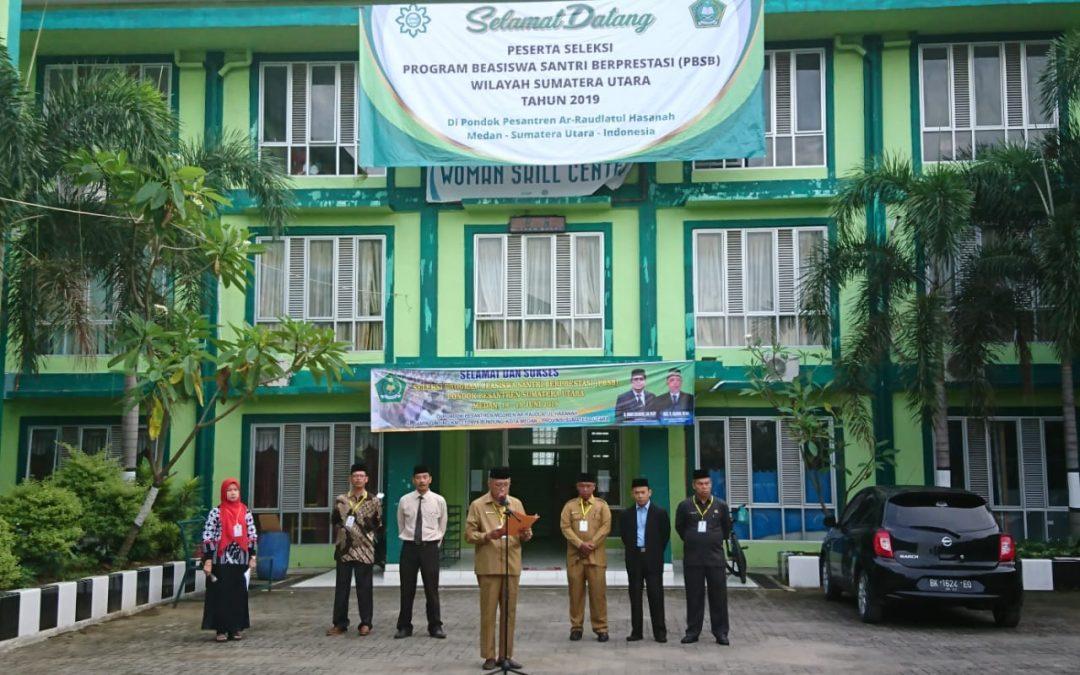 Seleksi Program Beasiswa Santri Berprestasi (PBSB) di Ar-Raudlatul Hasanah