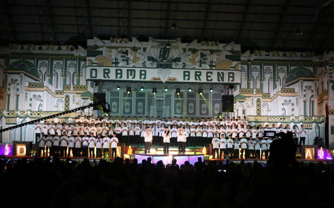 Pagelaran Drama Arena Santri Kelas 5 KMI