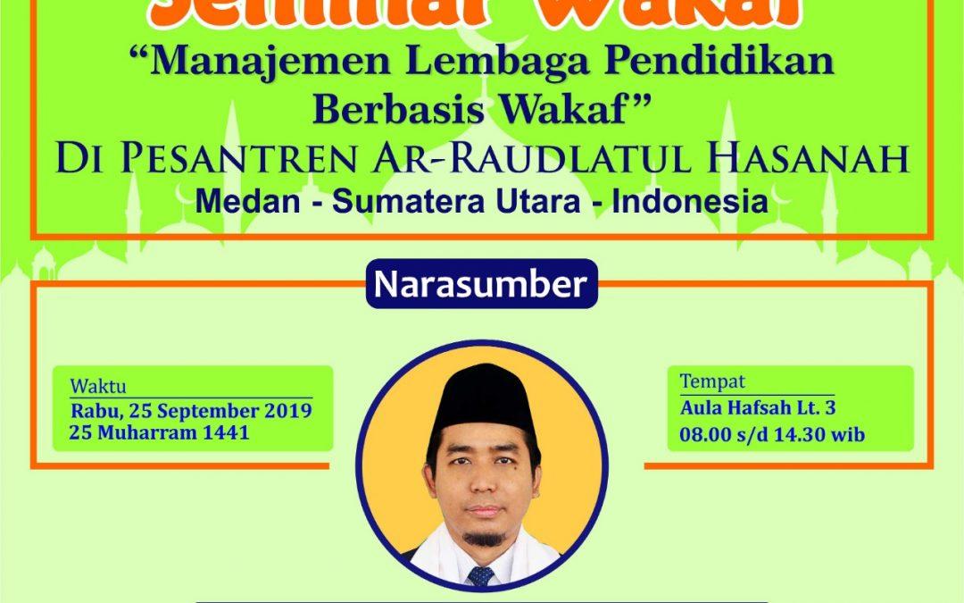 Seminar Wakaf