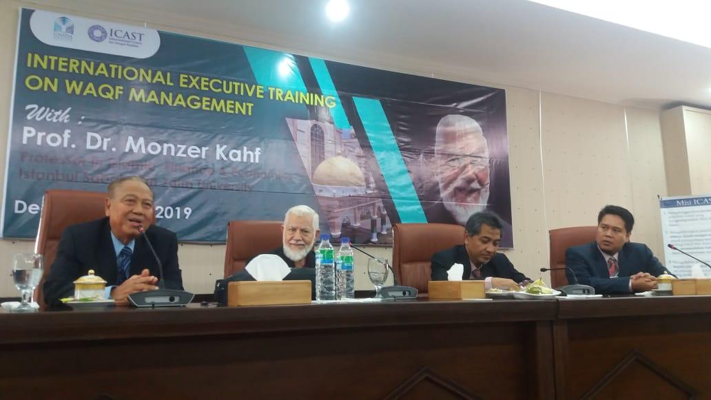 Raudlah Ikuti Pelatihan Manajemen Wakaf Internasional