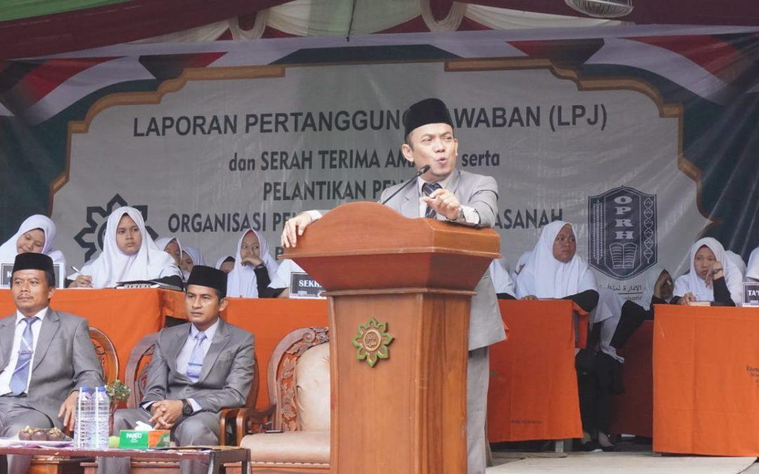 Laporan Pertanggungjawaban Organisasi Pelajar Ar-Raudlatul Hasanah