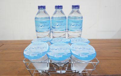 Produksi Air Minum Kemasan 'Raudhah'