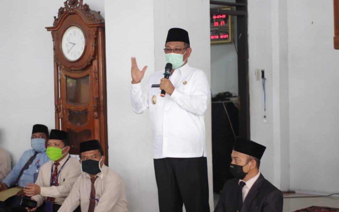 Sosialisasi Perwal Kota Medan No. 27 Tahun 2020 di Pesantren Ar-Raudlatul Hasanah