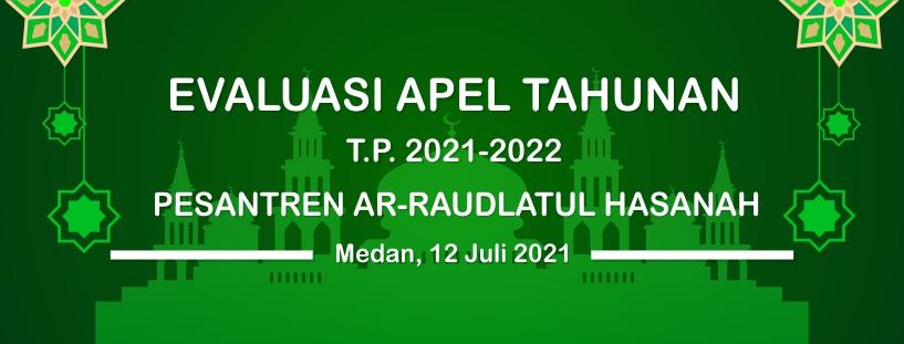 Wakil Direktur Sampaikan Nasehat dan Evaluasi Apel Tahunan 2021 di depan Guru dan Santri/wati